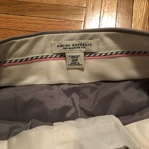 Banana Republic Pants - BR gray slacks